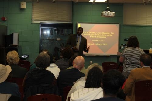 Brian Johnson W.E.B. Du Bois Presentation