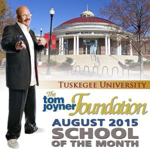Tom Joyner August 2015 School of the Month