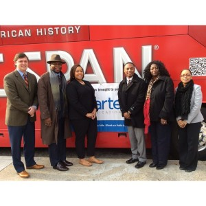 TUSKEGEE UNIVERSITY CSPAN BUS TOUR