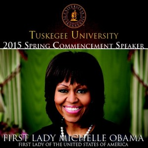 TUSKEGEE UNIVERSITY FLOTUS COMMENCEMENT SPEAKER
