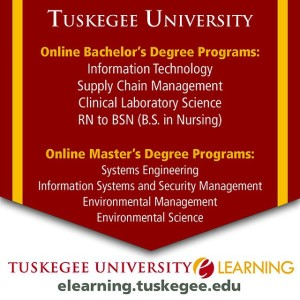 TUSKEGEE UNIVERSITY ONLINE DEGREE PROGRAMS