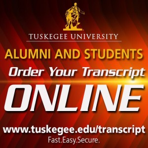 TUSKEGEE UNIVERSITY TRANSCRIPTS