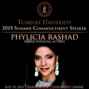 Phylicia Rashad Commencement